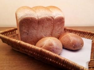 小麦ふすまパンの写真