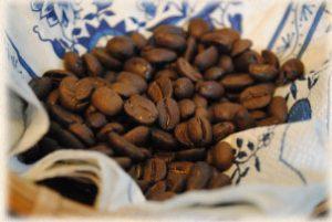 店主おすすめの独自ブレンド 「アルバートブレンド」の豆の写真